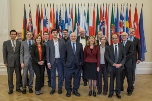 Nora Lustig in first meeting of High Level Expert Group on measuring economic and social progress; Joseph Stiglitz, Angus Deaton, Thomas Piketty, and others.